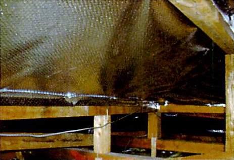 施工例=遮熱エース 屋根遮熱シート