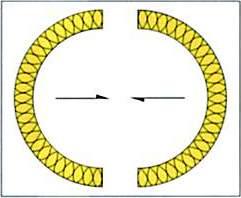 断面図=大口径保温筒