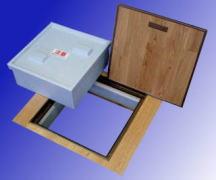 ダンブロッカー床用(断熱気密型床下点検口) 製品図