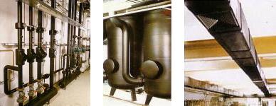 アーマフレックス使用例=タンクの保温断熱に