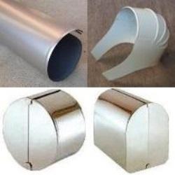 ラッキングカバー=保温工事(熱絶縁工事)用金属製外装材