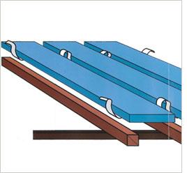 スタイロフォーム床断熱材 パタパタの製品概略図