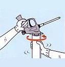 ハイプレン防蟻フォームガンタイプの使用法1