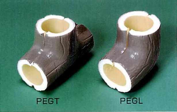 トーレペフ 被覆付き一般品「継手カバー PEGT・PEGL」 製品図